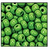 Seed Bead #2100 34 53230 Light Green Opaque (1/2 Kilo) (LOOSE) - CLEARANCE